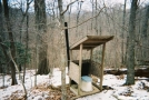 Privy at Spring Mtn Shelter by steve hiker in North Carolina & Tennessee Shelters