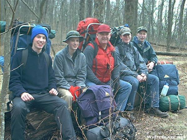 5 bumps on a log near Levelland Mtn.