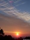 Sunrise along the Blue Ridge Parkway