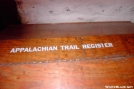 Trail Register at Pine Grove Furnace by wyclif in Maryland & Pennsylvania Shelters
