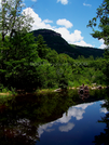 Harts Ledge Reflection by Belgarion in Views in New Hampshire