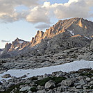 Fremont Peak just before sundown in the Wind River Range in Wyoming by map man in Other Trails