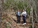 Headed Up Albert Mtn, 2007