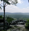View East along South Mt by Birdny in Trail & Blazes in Maryland & Pennsylvania