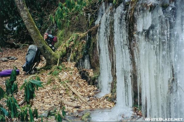 Little Mitten on the Frozen North Fork Trail