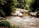 Chet and Celo George in the Pisgah Canyon by Tipi Walter in Special Points of Interest