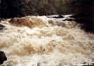 Bald River Cascades at Flood Stage by Tipi Walter in Special Points of Interest