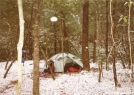 Bald River Gorge Winter Camp by Tipi Walter in Special Points of Interest
