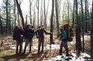 Sierra Club Backpackers on the BMT