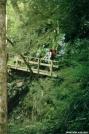 Tipi Walter on the Slickrock Footbridge