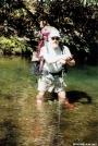 Tipi Walter on the Slickrock Creek Trail