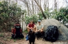Johnny B and Tipi at Haoe Peak