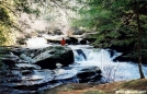 Bald River Cascades in Normal Level by Tipi Walter in Special Points of Interest