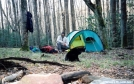 Iron Camp on the South Fork Citico by Tipi Walter in Faces of WhiteBlaze members