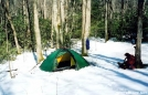 The Hilleberg Staika in the Snow by Tipi Walter in Tent camping