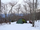 Hangover Camp In Saddle Tree Gap by Tipi Walter in Tent camping