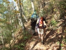 Willow and Johnny B in Bald River Wilderness