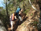 Johnny B and Willow Climbing in Bald River