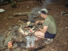 Sgt Rock At The Firepit by Tipi Walter in Faces of WhiteBlaze members