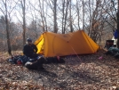 An Old MSR Tarp Tent by Tipi Walter in Tent camping