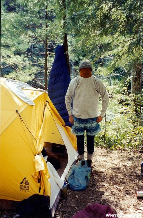 Tipi Walter in the Bald River Gorge Wilderness