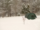 Green Kerlon Keron 3 Tent by Tipi Walter in Tent camping