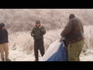 Boy Scouts Pack Up A Frozen Camp by Tipi Walter in Other People