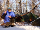 Uncle Fungus On Good Ole Rocky Top by Tipi Walter in Tent camping
