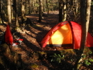 The Red Hilleberg Staika Tent by Tipi Walter in Tent camping