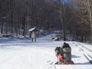 Mud Gap In The Snow by Tipi Walter in Views in North Carolina & Tennessee