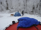 Hootyhoo's Camp At Cold Gap by Tipi Walter in Tent camping