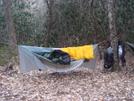 Sgt Rock's Hammock Set Up by Tipi Walter in Hammock camping