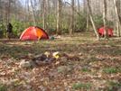 The Wedge Camp Below Bob's Bald