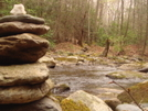 Hippie Sign On The North Fork Citico by Tipi Walter in Views in North Carolina & Tennessee