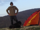 Dog, Tent And Fleece