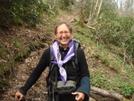 Bmt Thruhiker Regina Reiter by Tipi Walter in Thru - Hikers