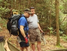 Sgt Rock And Wisenber Talking by Tipi Walter in Faces of WhiteBlaze members