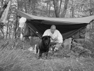 Coy Williams And His Hammock by Tipi Walter in Hammock camping