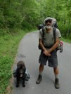 Four Mile Roadwalk On Tellico River Road by Tipi Walter in Faces of WhiteBlaze members