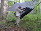 Coy And His Hammock System by Tipi Walter in Hammock camping