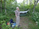 Coy At Naked Ground by Tipi Walter in Hammock camping