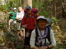 Bmta Thruhikers On The Ike Branch Trail by Tipi Walter in Thru - Hikers