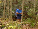 Sgt Rock Studying His Map/gps by Tipi Walter in Faces of WhiteBlaze members