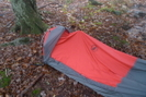 Rick Harris And His Big Agnes 3 Pole Bivy Sac by Tipi Walter in Tent camping