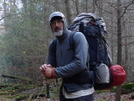 Uncle Fungus Heading Down The Sycamore Creek Trail by Tipi Walter in Faces of WhiteBlaze members