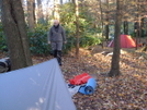 Hootyhoo's Tarp And My Staika by Tipi Walter in Tent camping