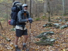 Uncle Fungus Heading Up The Yellowhammer Trail