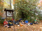 Bmta Group Lunch Break At Farr Gap by Tipi Walter in Thru - Hikers