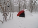 Stage One Of The Arctic Storm From O Canada by Tipi Walter in Tent camping