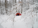 Iron Camp Winter White Wonderland by Tipi Walter in Tent camping